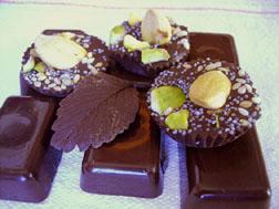 Je fais mes chocolats maison !