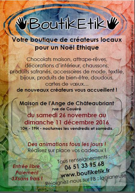 la BoutikEtik... l'achat conscient local