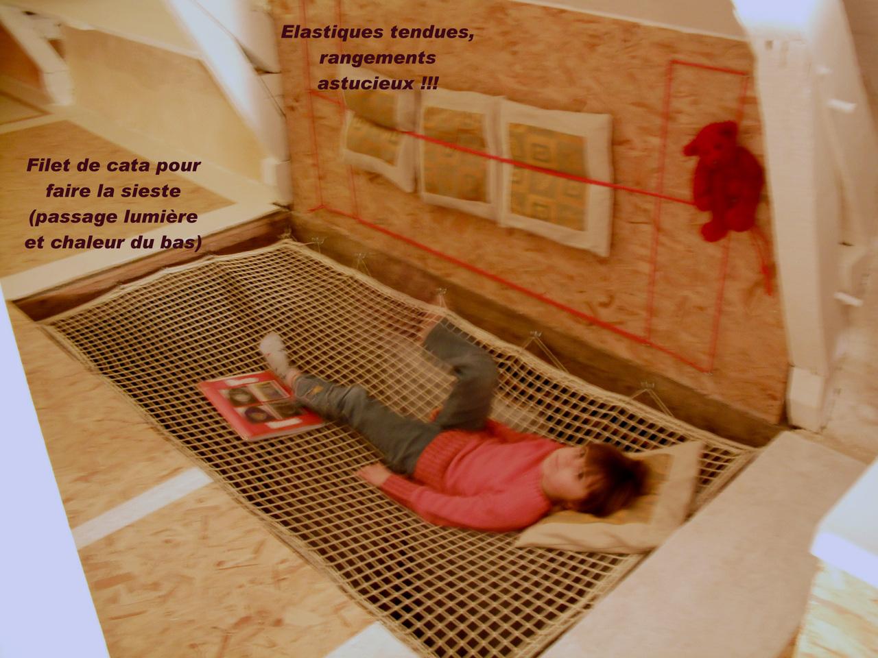 filet catamaran tramail nylon maille mm filet pour mezzanine location vacances maison erdeven. Black Bedroom Furniture Sets. Home Design Ideas