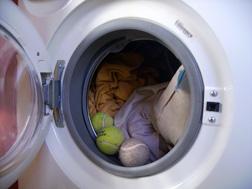 Je réduis la consommation de ma machine à laver.