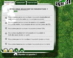 Petit quizz pour calculer votre empreinte écologique !