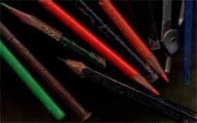 soirée taille de crayons...